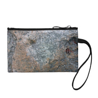 Rock Texture Background Detail Coin Purse