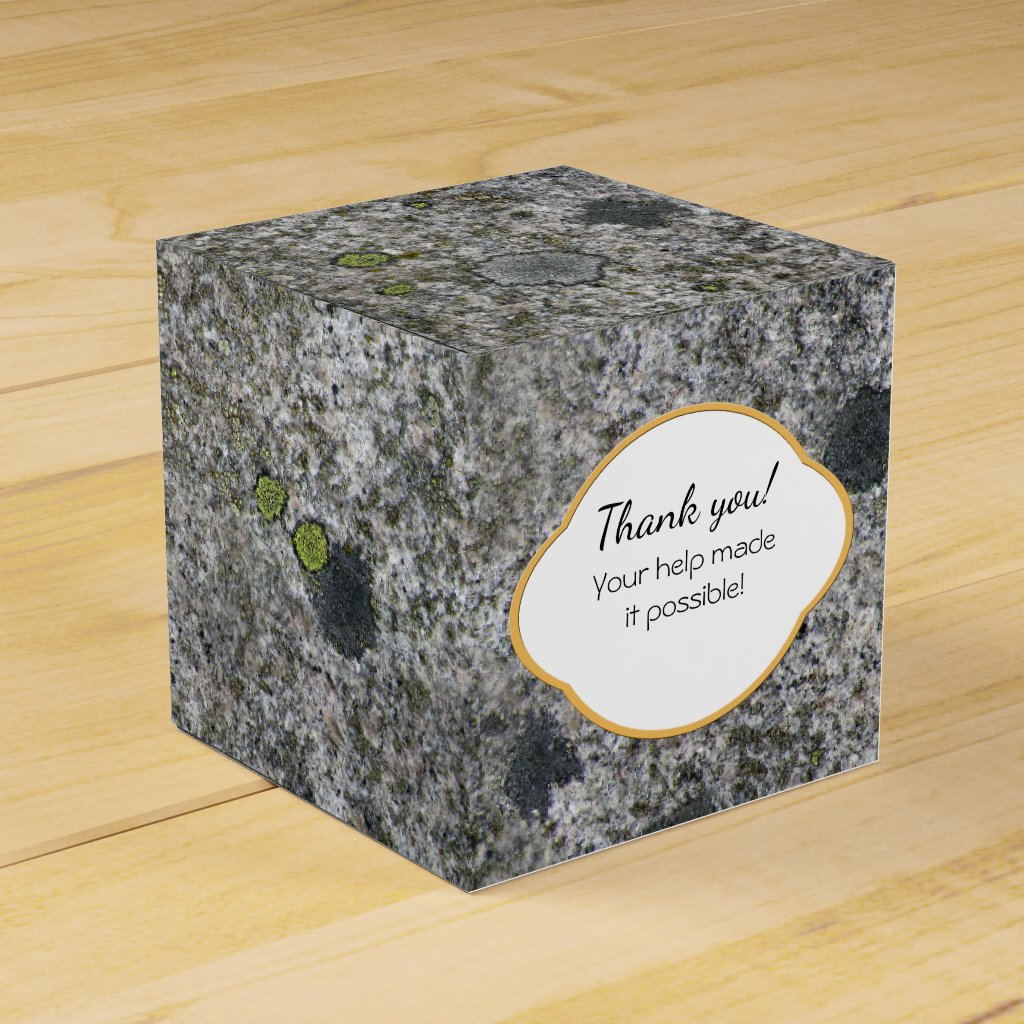 Rock Texture Gray Granite with Moss any Text