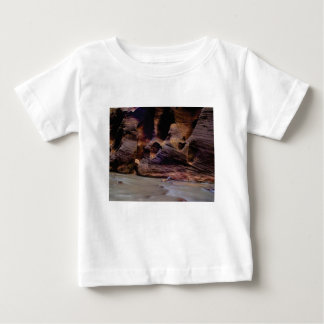rock texture of turns baby T-Shirt