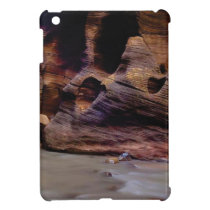 rock texture of turns iPad mini case