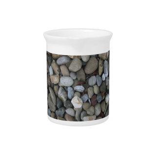 Rock Texture Template Drink Pitcher