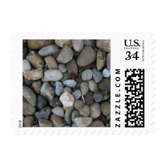 Rock Texture Template Postage Stamp