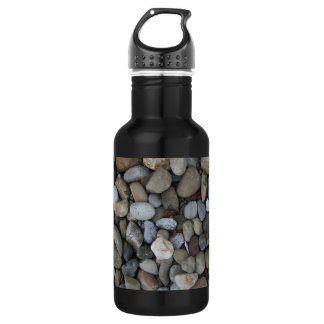 Rock Texture Template Stainless Steel Water Bottle