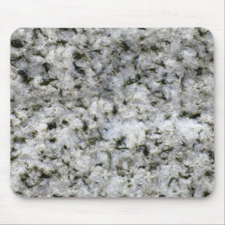 Rock Texture White Granite Mouse Pad