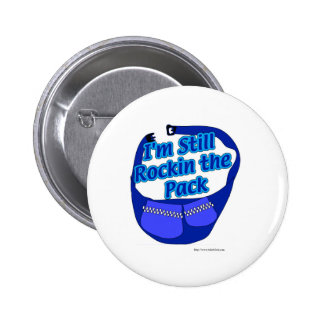 Rock that Pack! 2 Inch Round Button