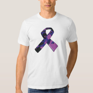 """""""Rock the Cure"""" Cancer Support Tee Shirt"""