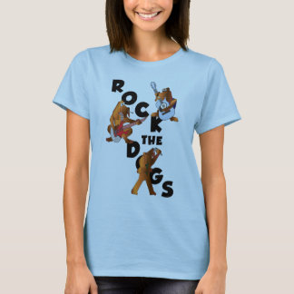 Rock The Dogs Babydoll Tee