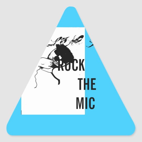 ROCK the MIC stickers