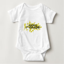 ROCK THE SNOT OUT - 1ST GRADE BABY BODYSUIT