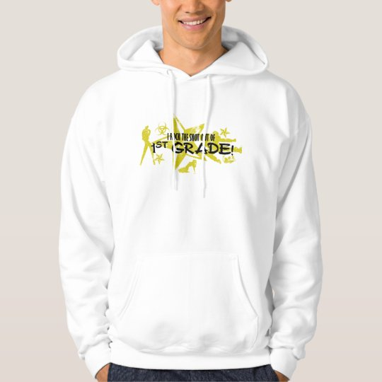 ROCK THE SNOT OUT - 1ST GRADE HOODIE