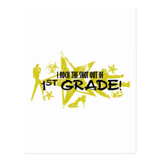 ROCK THE SNOT OUT - 1ST GRADE POSTCARD