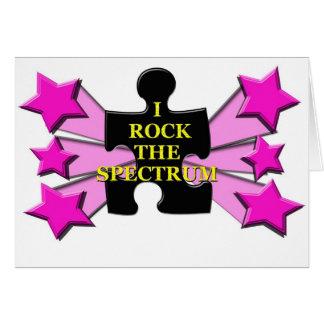 Rock the Spectrum! Card