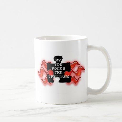 Rock the Spectrum! Classic White Coffee Mug