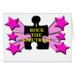 Rock the Spectrum! Greeting Card