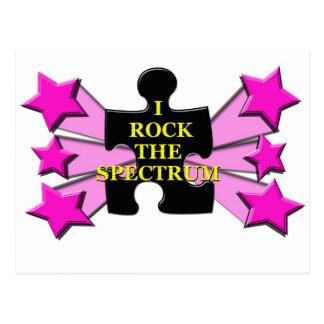 Rock the Spectrum! Postcard
