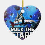 Rock The Stars Christmas Tree Ornaments