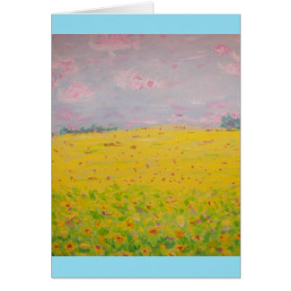 Rock The Sunflower Card