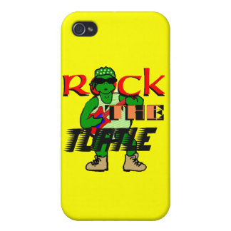 Rock the Turtle iPhone Case Case For iPhone 4