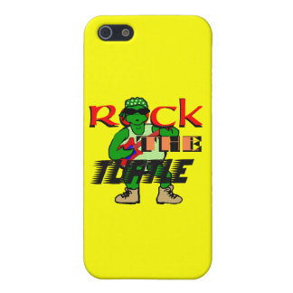 Rock the Turtle iPhone Case iPhone 5/5S Cases