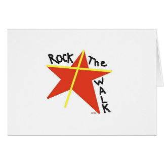 Rock the Walk with Jesus! Card