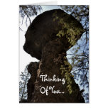 Rock Thinking Of You Card