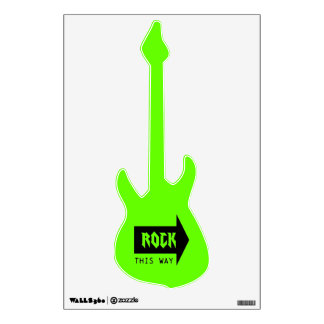 ROCK THIS WAY WALL STICKER