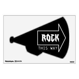 ROCK THIS WAY ROOM DECAL
