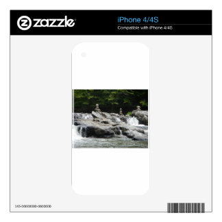 Rock Towers Skins For The iPhone 4S