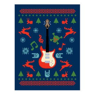 Rock Ugly Sweater Tees Postcard