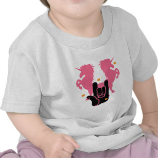 ROCK Unicorns Tee Shirts