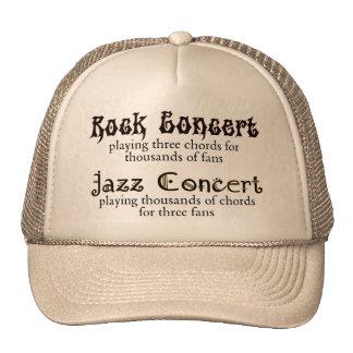 Rock vs Jazz hat