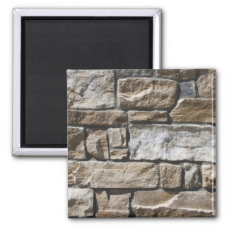 Rock Wall 2 Inch Square Magnet
