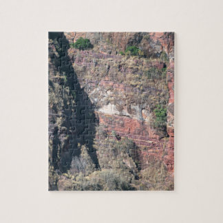 Rock wall in Ethiopia. Jigsaw Puzzle