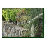 Rock Wall & Steps card for any occasion- customize