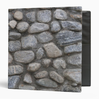 Rock Wall Texture and Grey Stone Pattern Photo Binder