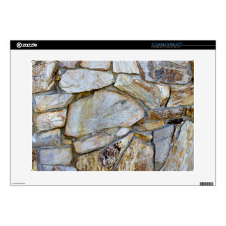 Rock Wall Texture Photo Laptop Decal