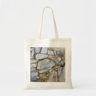 Rock Wall Texture Photo on Tote Bag