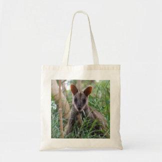 Rock Wallaby Bag Budget Tote Bag