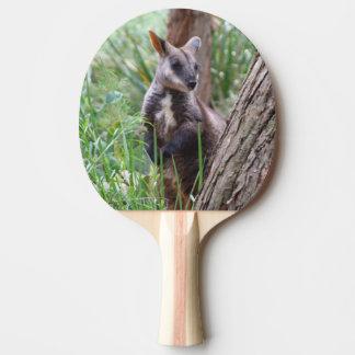 Rock Wallaby Ping Pong Paddle