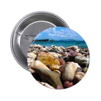 Rock-Water-Sky 2 Inch Round Button