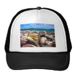 Rock-Water-Sky Mesh Hat