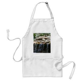 Rock Waterfall Adult Apron