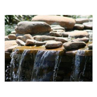 Rock Waterfall Postcard