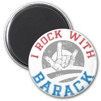 Rock with Barack Magnets