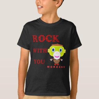 Rock With You-Cute Monkey-Morocko T-Shirt