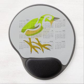 Rock Wren 2014 calendar mousepad Gel Mousepads