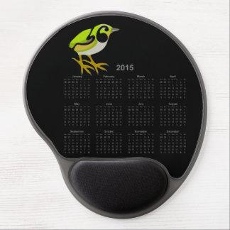 Rock Wren 2015 calendar mousepad Gel Mousepad