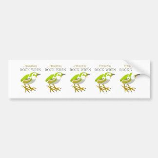 Rock Wren, South Island, NZ bird Bumper Sticker