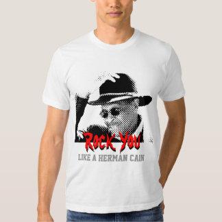Rock You Like a Herman Cain Shirt