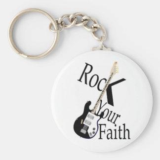 Rock Your Faith G-Style Keychain